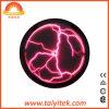 Color rosa eléctrico al por mayor atractivo de la placa de trueno de la luz de la bola de plasma