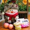 新年のクリスマスのストッキングのおもちゃのサンタクロースキャンデーのギフト袋