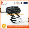 2017 Ddsafety белый нейлон с черными нитриловые перчатки