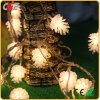 Света шнура света штепсельной вилки вспышки фонарика фонарика СИД праздника конусов сосенки фонариков светов рождества сосенки малым введенные шнуром декоративные