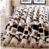 Couverture molle superbe rose de vente chaude d'ouatine, couverture de Raschal pour l'hiver