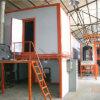 /Semi-automatique automatique de la production de revêtement en poudre de pulvérisation électrostatique de ligne de peinture pour les pièces automobiles