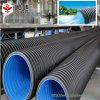 Le mur flexible de double de HDPE a ridé 24 pipes d'évacuation de pouce