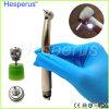 Diodo emissor de luz de alta velocidade dental Handpiece da turbina de ar com o E-Gerador com 4 pulverizadores de água