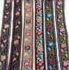 Stock de 5 cm de estilo vintage bordados coloridos textiles cinta de encaje de rosca