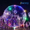 18  LEIDENE Fee Lichte Transparante Bobo Balloon