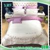 Van het Katoenen van het borduurwerk de Luxueuze Bladen Bed van het Hotel