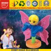 Brinquedo plástico colorido do enigma para o bebé