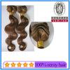 卸し売りインドのRemyのブレードの毛、Remyの人間の毛髪のよこ糸