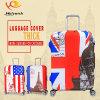 工場価格の便利なパターンによって印刷されるスーツケースの荷物カバー
