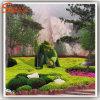 Hedge Buxo artificial das plantas artificiais Topiary Animal para decoração de jardim