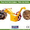 Trituradora Chipper de madera de la desfibradora autoalimentadora hidráulica (BRH)