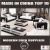 Italien-reine lederne moderne Möbel mit Kaffeetische und Fernsehapparat-Standplatz für Wohnzimmer