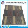 Azulejos de azotea revestidos de madera de metal de la piedra de construcción de la construcción de la resistencia térmica