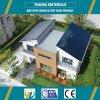 Casa prefabricada del chalet de la pared de la estructura de acero AAC del estilo americano