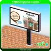 표시판을 광고하는 옥외 강철 게시판 구조 LED