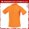 Orange High Quality Half Sleeve Kids Rash Guard (ELTRGI-51)