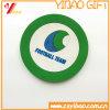 FDA Onderleggers voor glazen de van uitstekende kwaliteit van het Silicone van de Mat van pvc van de Gift van de Bevordering voor Kop (yb-n-02)