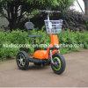 Самокат электрического самоката 3 колес Zappy для инвалид