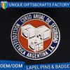 Distintivo uniforme alla moda del distintivo su ordinazione del metallo della fabbrica dell'OEM