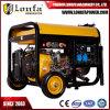 10kVA generador portable de la soldadura del Doble-Cilindro de la gasolina Gx690