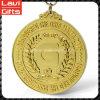 Подгонянная золотая медаль металла с промотированием