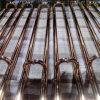 304 de haute qualité en acier inoxydable plaqué or poignée, tirez la poignée de portes de l'hôtel