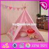 Innen- oder im Freienspiel-Zelt für Kind-Spaß-indisches rosafarbenes Baumwollzelt für Kinder W08L004