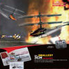 Вертолет боя игрушки 3CH RC
