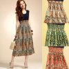Mädchen-Sommer-Kleid der Form-Frauen