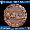 Moneta d'argento antica su ordinazione del ricordo del metallo 3D al prezzo di fabbrica