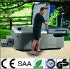 Standing libre Air Bubble Whirlpool Outdoor SPA Hot Tub avec Sautent-vers le haut la TV
