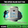 Ventilateur centrifuge de tuyau de vitesse en plastique de Daul