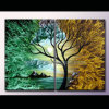 Pittura a olio contemporanea di Landscape per Home Decoration (KLLA2-0022)