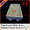 Aquecedores de painel radiante de área ampla de tela plana