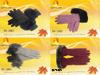 Перо содержания теплое с перчатками тумака шерсти кролика Multi-Color