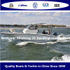Barco de Pesca de fibra de vidro Yfishing Bestyear 21 Hardtop Cuddy Boat