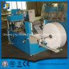 Machine se pliante gravante en relief de fabrication de papier de serviette de toilette avec la couleur deux