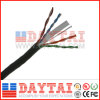 중국 CCA 23AWG 4 Pair Cat 6 UTP 근거리 통신망 Cable