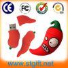De in het groot Schijf van de Flits van de Vorm USB van pvc van de Peper van de Spaanse peper van het Gadget