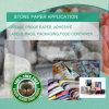 HDPE Felsen-gemischtes synthetisches Papier für Kennsätze u. Nahrungsmittelbehälter