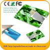 Heißer Verkauf kundenspezifisches Visitenkarte USB-Speicher-Platte-Blitz-Laufwerk (EC002)