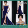 hors de GV Velvet Formal Foncé-bleu Evening Dress (GDNY203) de Shoulder Sexy Keyhole Open Backless Women Maxi Clothes