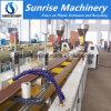 Hölzerner zusammengesetzter (WPC) Decking-Zaun-Fußboden-Profil-Plastikproduktionszweig