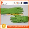 Ddsafety 2017 Green Latex Household Gloves Fish Scale Grip