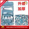 Fabrik-Segeltuch-kosmetischer Beutel mit dem transparenten Verpacken