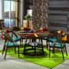 고전적인 상업적인 나무로 되는 대중음식점 테이블 및 의자 가구 (SP-CT779)