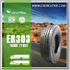 Schlussteil-Gummireifen alle des LKW-295/80r22.5 Gummireifen des Stahl-LKW-Radialreifen-TBR mit Garantiebedingung