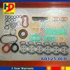6D125-O Kit de juntas completa de reparo do motor para peças de escavadeira