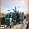 Serie sporca nera dell'olio che rinnova riciclando rigenerazione dell'olio residuo della strumentazione